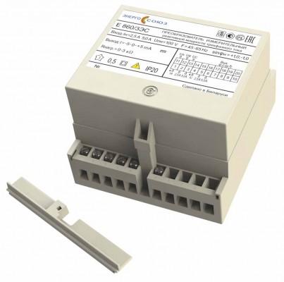 Е 860ЭС — преобразователь измерительный реактивной мощности трехфазного тока
